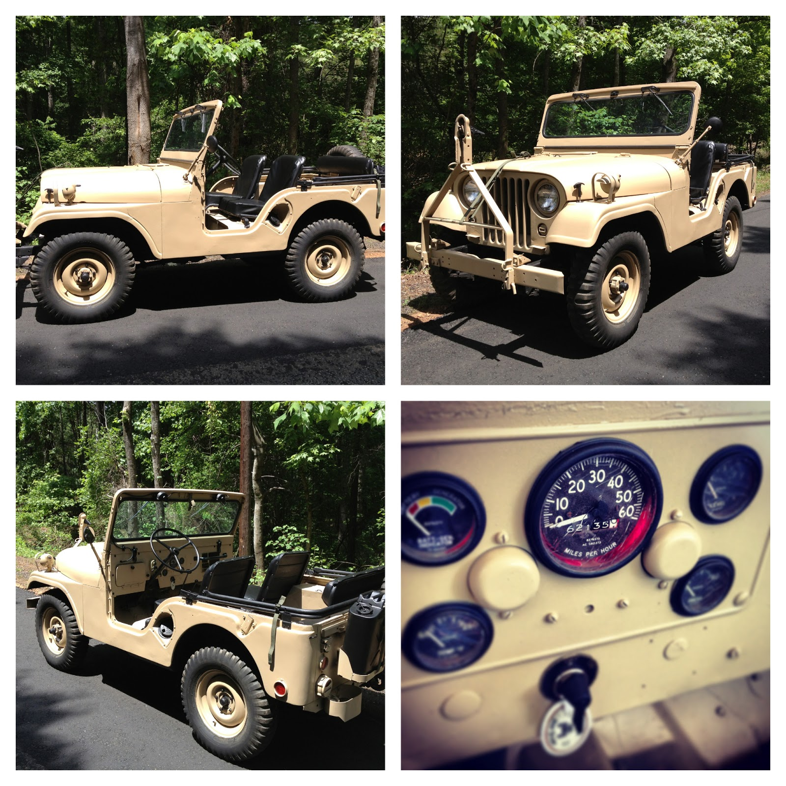 1955 m38a1 us army jeep sarge