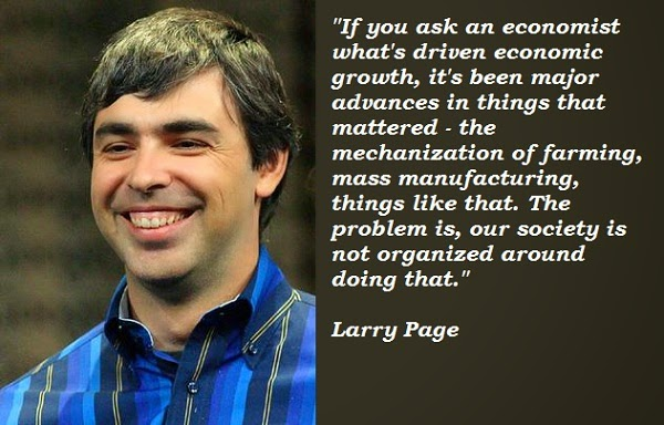 larry page quotes technology blogging seo smartphones