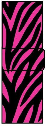 kit personalizado pink zebra