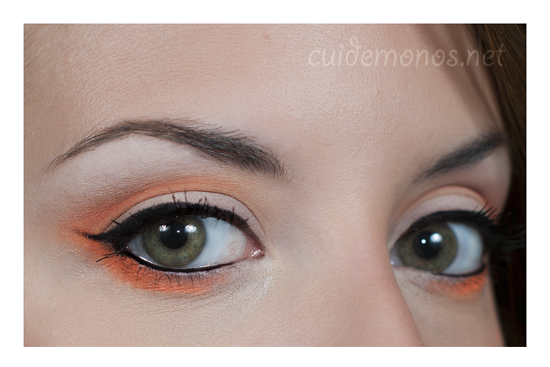 look Scandalous MUFE look naranja