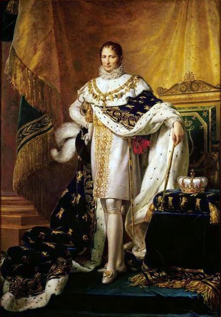 José Bonaparte como Rey de España del artista franco-italiano Francois Gérard