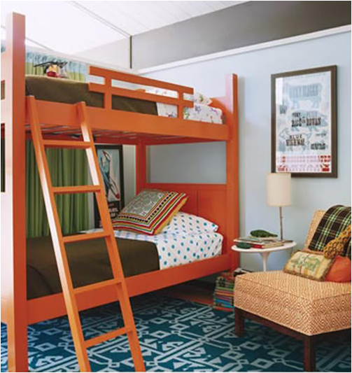 Key interiors by shinay not pink and beautiful teen girl bedrooms - Beautiful bunk bed teens ...