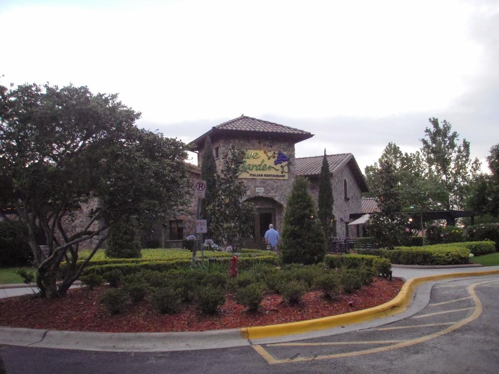 Miquelli 39 S Amerikablog Restaurant Olive Garden Orlando Florida