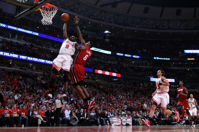 Heat Take Out Bulls With Four Straight
