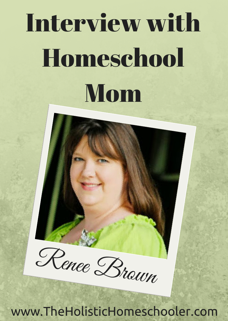 An interview with homeschool mom and blogger, Renee Brown of Great Peace Academy. #homeschool #interviews