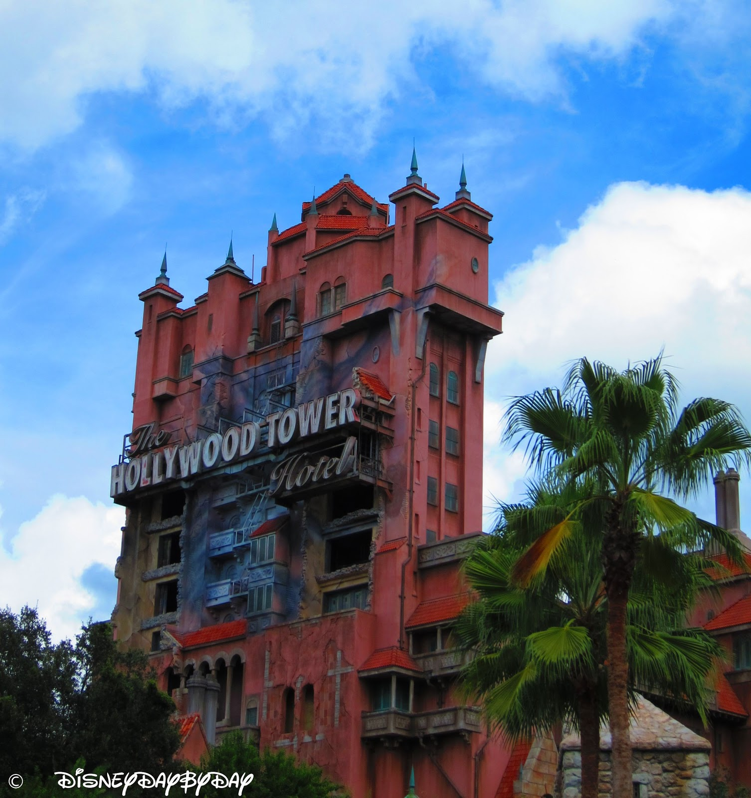 The Twilight Zone Tower of Terror Ride