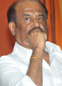 Rajinikanth attending a meeting