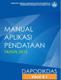 Buku Manual Aplikasi Dapodik 4.1