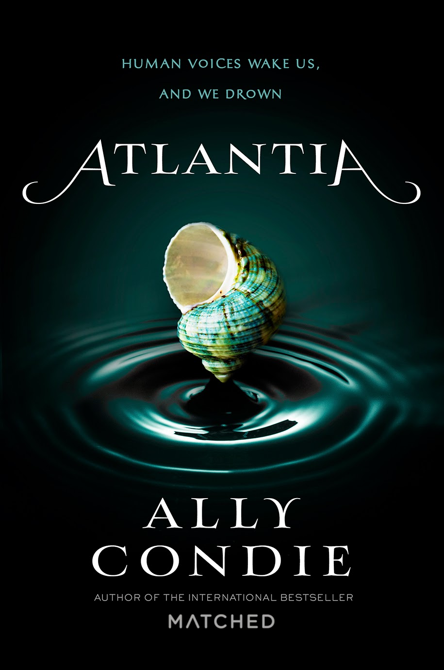 Atlantia by Ally Condie Cover and Release date!