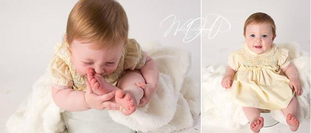 ©2015 MHaas Photography baby photos, heirloom dress