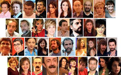 Intérpretes de la serie Siete Vidas de Telecinco