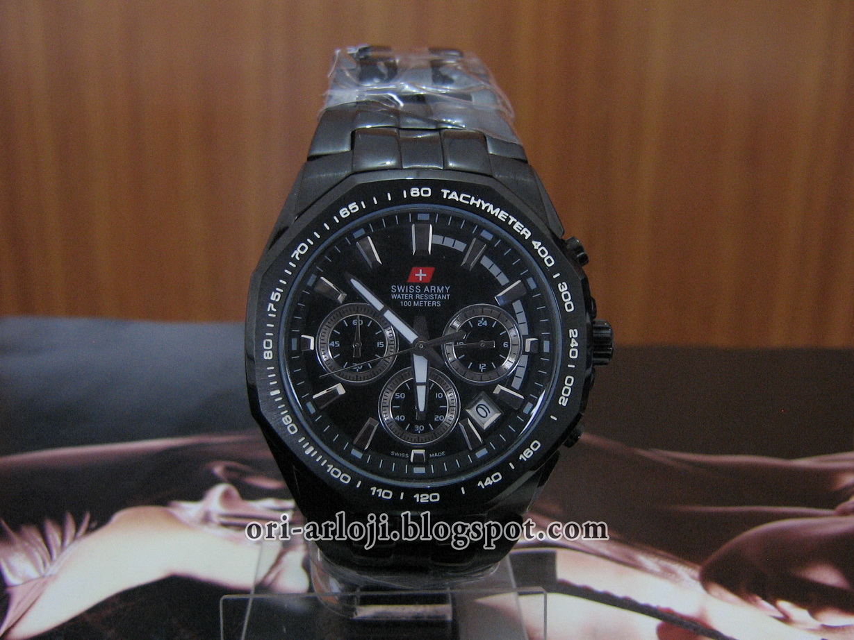 Swiss Army_8101 Black (Rp. 550.000,-)