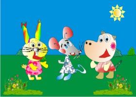 bajki, bajki dla dzieci, myszka, myszka Zuzia, Zuzia, film dla dzieci, serafjogin, kreskówka