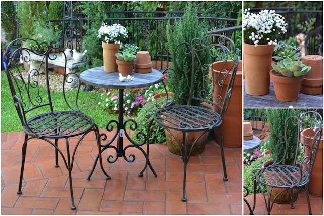 bancos de jardim goiania : bancos de jardim goiania:Conjunto para jardim na cor preta. Sem problemas com o tempo, sol ou
