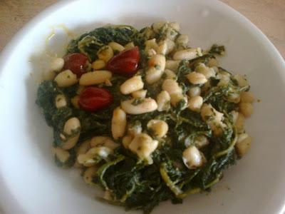 minestra di cicoria e fagioli