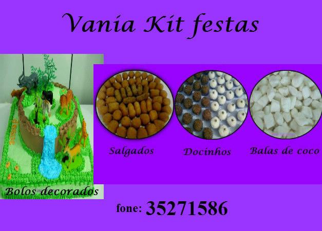 Vânia Kit Festas