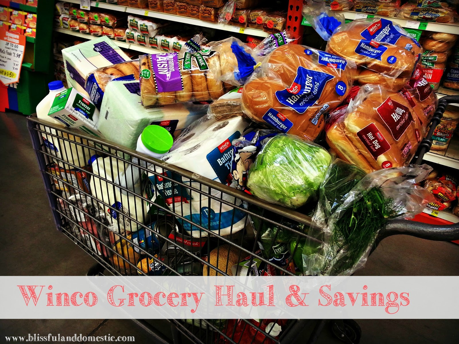Monthly Shopping: Saving at Winco