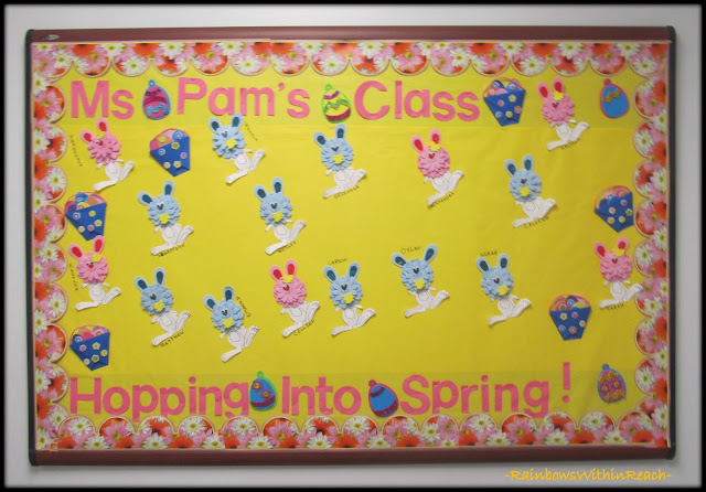 photo of: Spring Bulletin Board via RainbowsWithinReach
