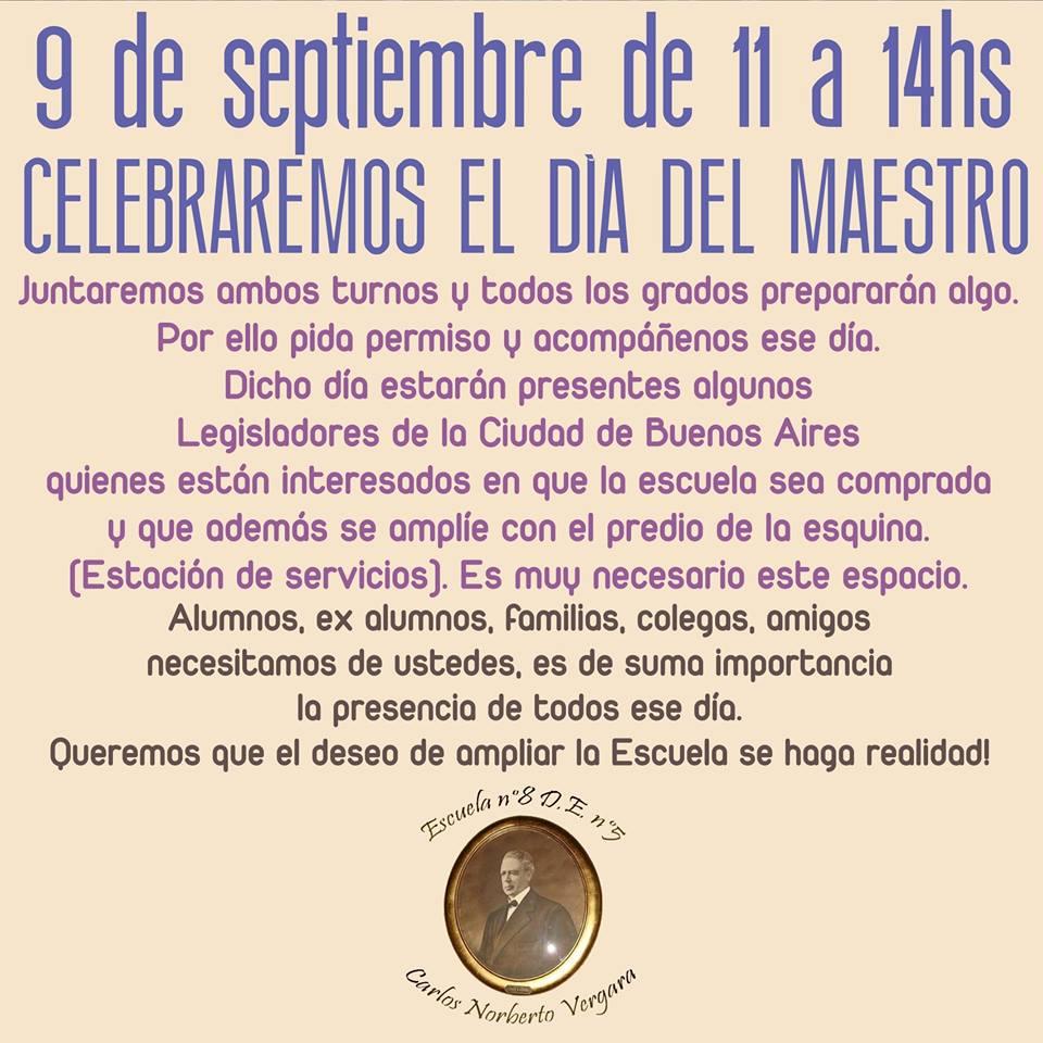 Festival Día del maestro