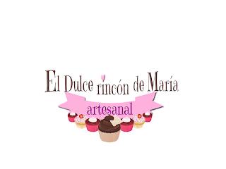 logotipo El dulce rincon de Maria