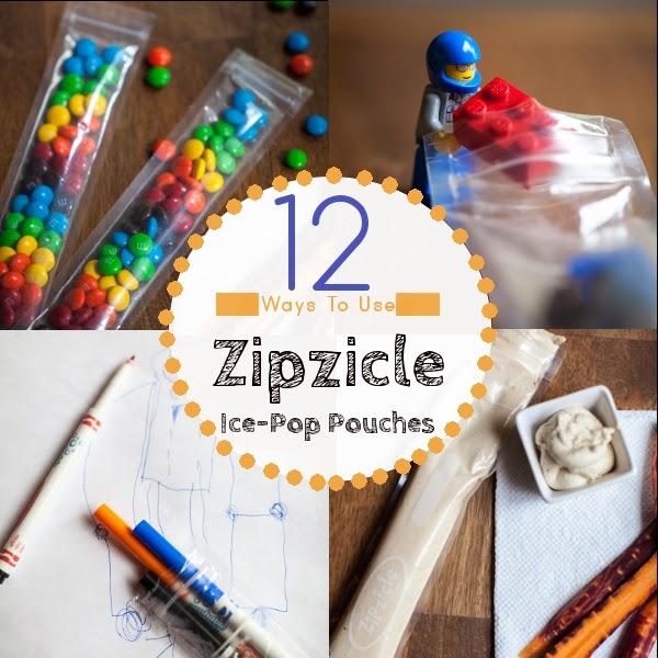 12 Ways to use Zipzicles Ice-Pop Pouches