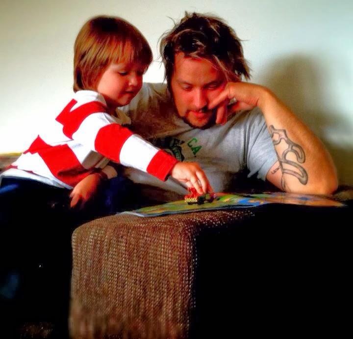 Pappa och Tristan