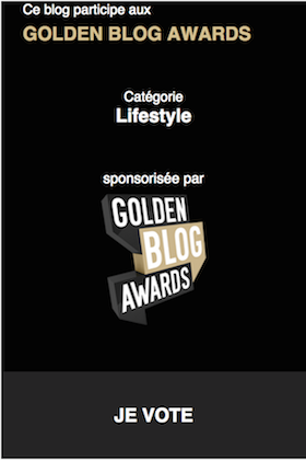 Help us win the Blog Award in the Lifestyle Category