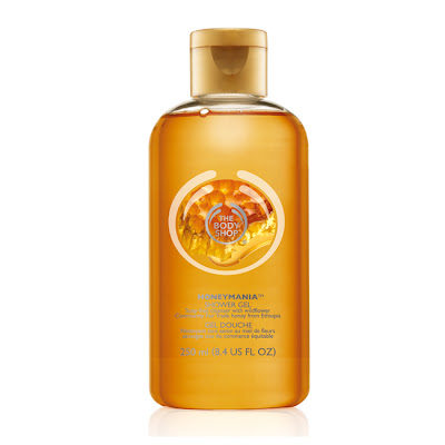 The Body Shop, The Body Shop Honeymania Shower Gel, body wash, shower gel, bath & body products, bath and body products, lather up, soap, honey