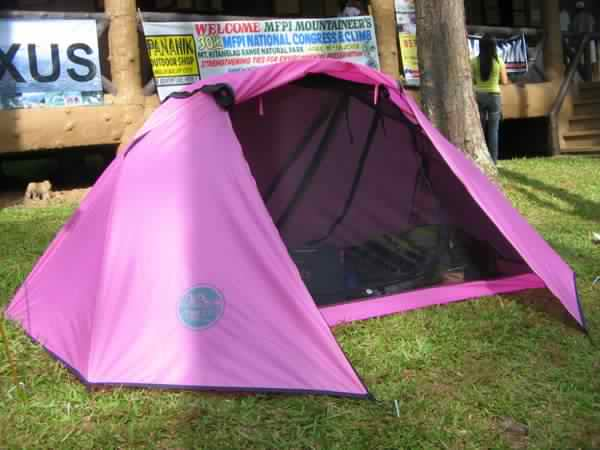 Back View & Bboss Gears: Micralite Tent (brand is apexus)