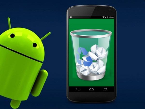 mengaktifkan recycle bin di Android