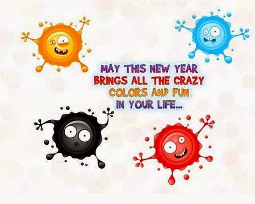 Best Funny New Year Wishes With Images 2015