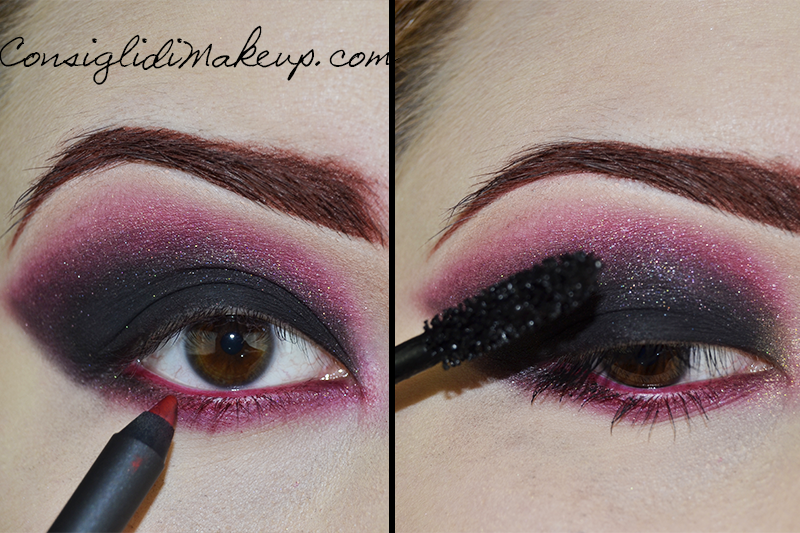 Make up tutorial strega halloween 2014