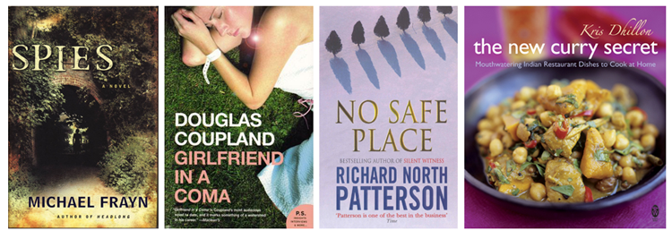 August Books List