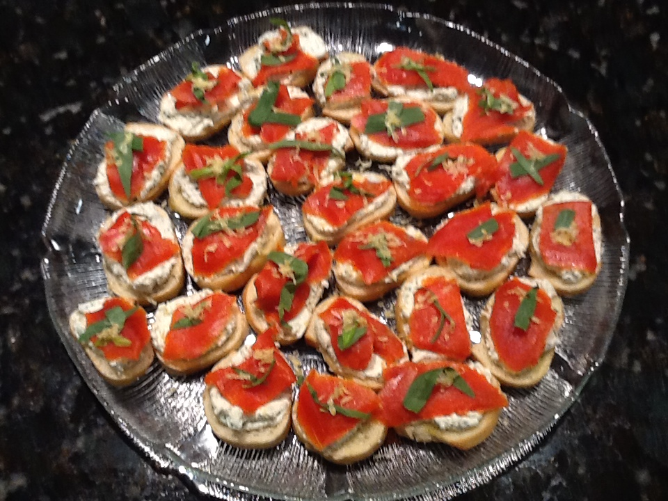 Kitchen Digest: Smoked Salmon and Goat Cheese Toasts with Appetizers ...