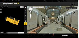 Musee D`Orsay zwiedzane online w ramach projektu Google Art Project