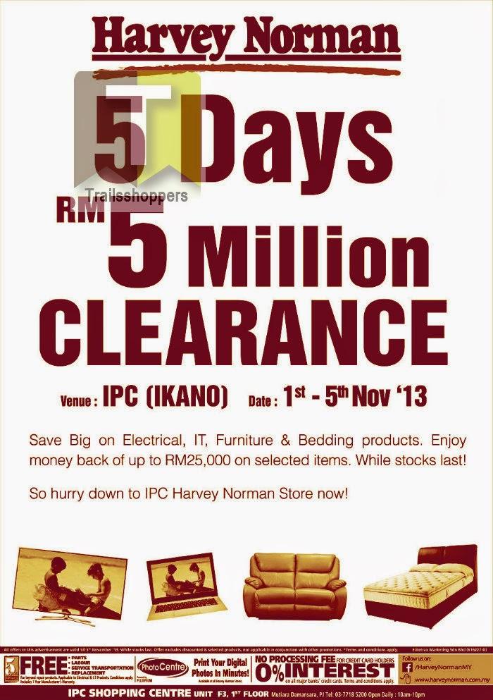 Harvey Norman RM5 Million Clearance 2013