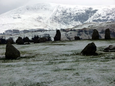 Castlerigg, stone circle, Keswick, Cumbria, about Britain