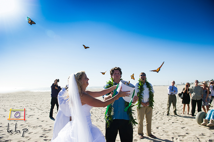The wedding ceremony had a butterfly release and it was absolutely breathtaking to capture.