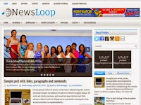 NewsLoop - Premium Blogger Templates Free Download