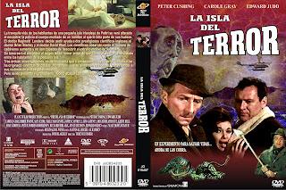 Carátula dvd: S.O.S el mundo en peligro (La isla del terror)