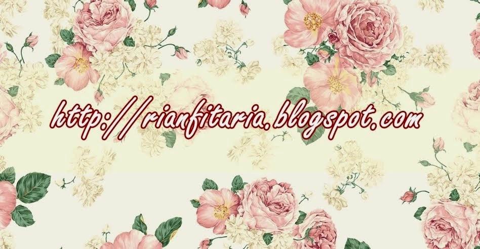 Rianfita Ria Sutarto's Blog