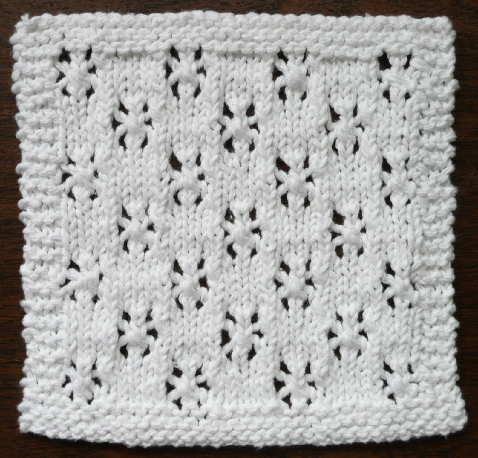 Perfect One-Ounce Dishcloth - FREE Patterns