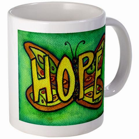 Hope Butterfly Mug