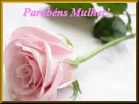 flor em homenagem ao Dia Internacional da Mulher