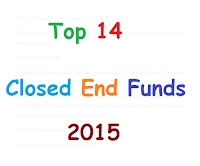 Top 14 Closed End Funds in 2015