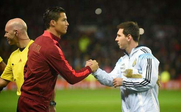 Messi y cristiano Ronaldo jugarían juntos
