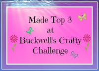 TOP THREE AT BUCKWELL'S CRAFT CHALLENGE