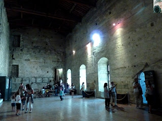 Palais des Papes - interior