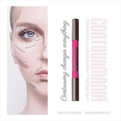 Neve Cosmetics contourmania contouring