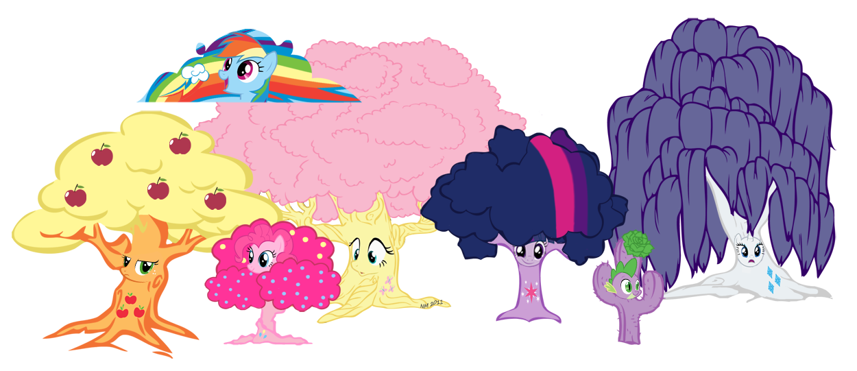 My little pony friendship is magic family tree - photo#26
